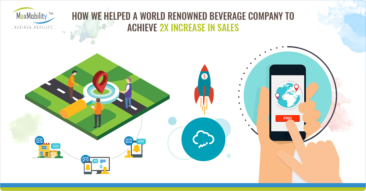 How we helped a world renowned beverage company to achieve 2X increase in Sales