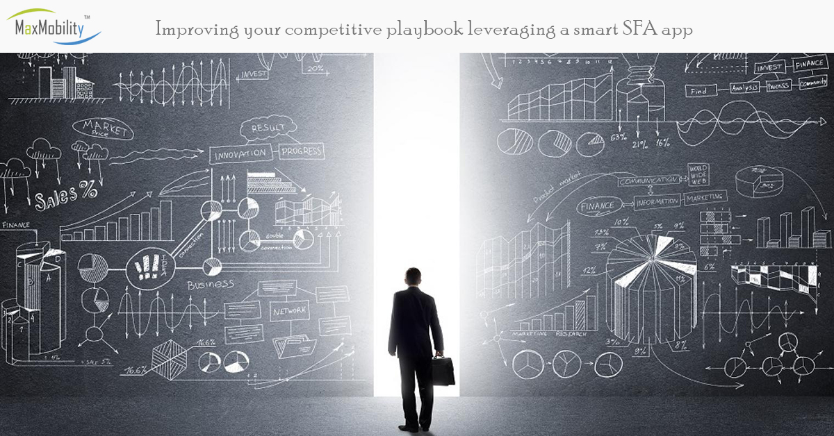 Improving your competitive playbook leveraging a smart Sales Force Automation app
