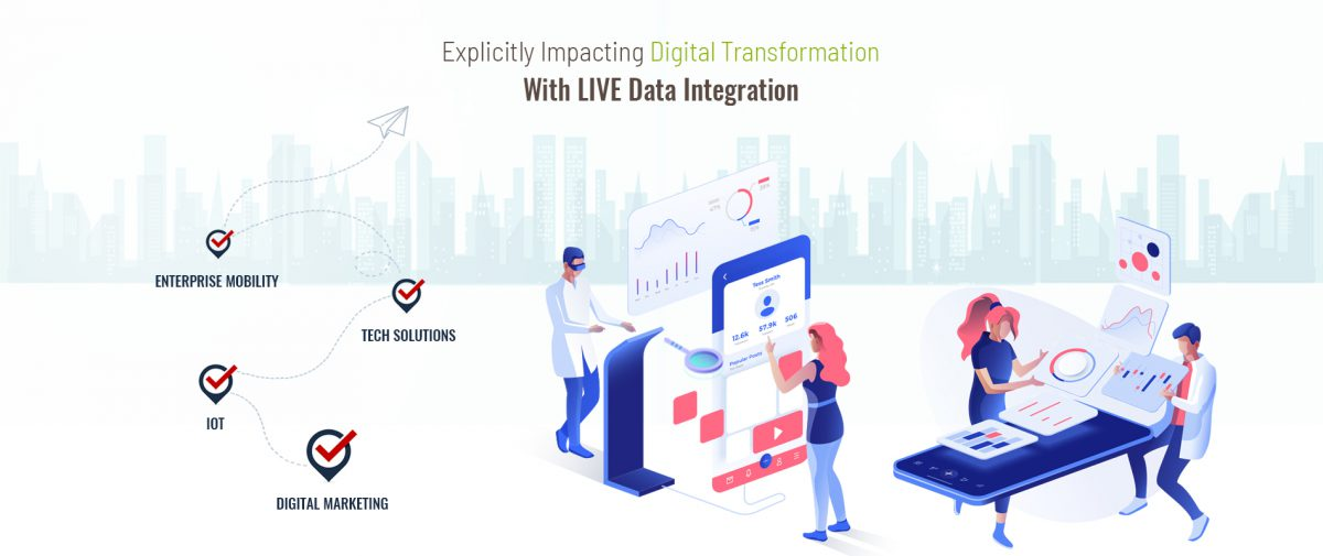 Discover the endless possibilities; explicitly impacting your Digital Transformation story with LIVE Data Integration.